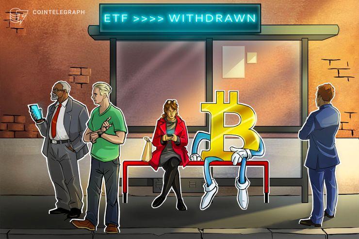 Proposta para ETF de Futuros do Bitcoin cancelada por pedido da SEC