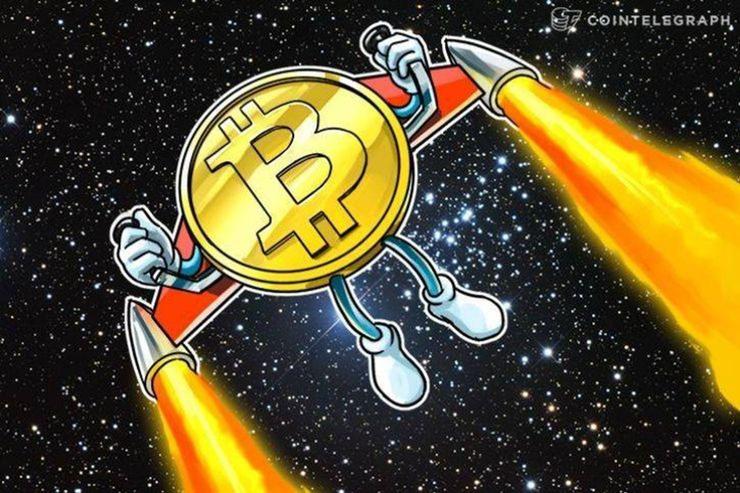 仮想通貨ビットコイン、年初来高値更新し9000ドルに迫る|大幅調整を警戒する声は根強い