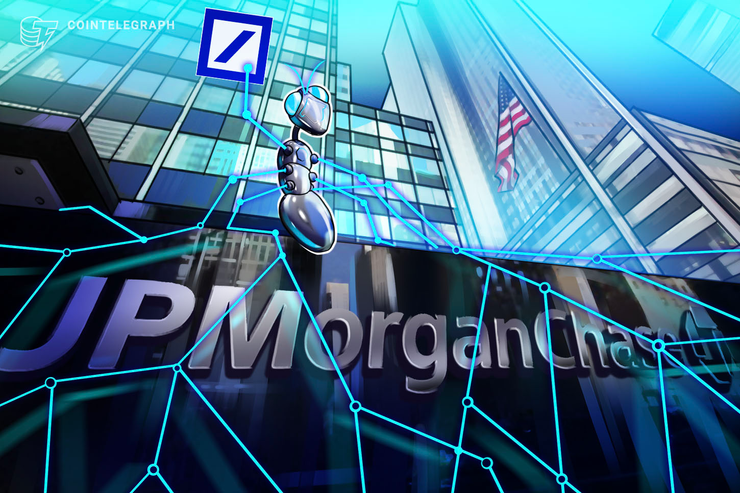 El mayor banco de Alemania se une a la red blockchain de JPMorgan