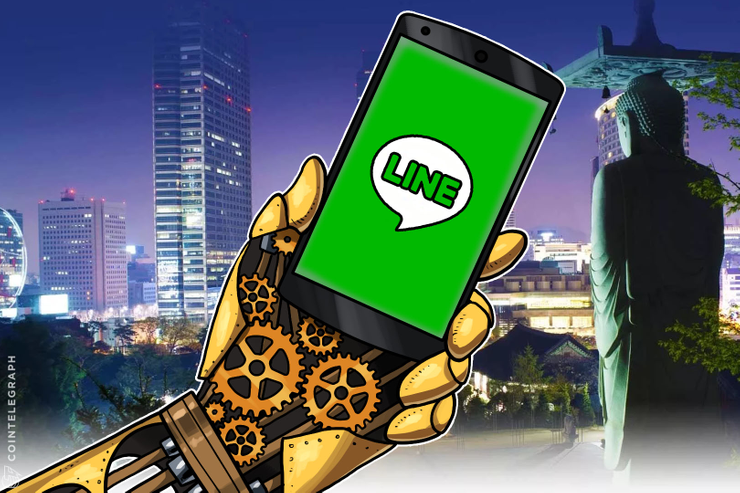 El gigante de mensajería de chat con sede en Tokio lanza una filial Blockchain en Corea del Sur