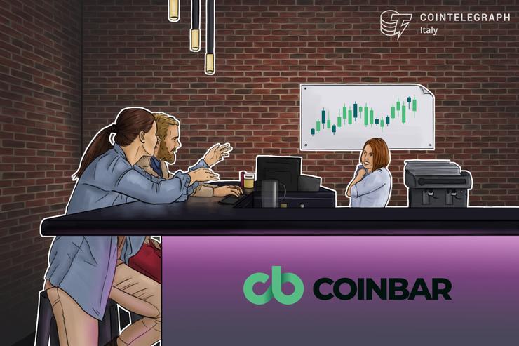 Nasce Coinbar, il nuovo exchange italiano regolamentato con una rete di punti fisici