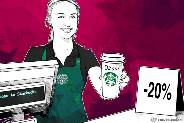 Foldapp Lets You Pay with Bitcoin at Starbucks and Get 20% Off