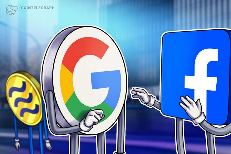 Google y Facebook asumen funciones bancarias. ¿Se encogen de hombros las criptomonedas?