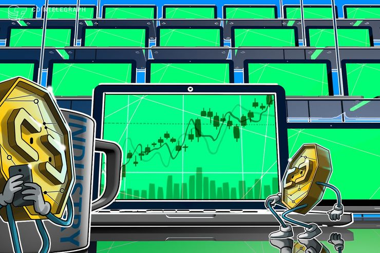 Bitcoin Nears $3,750 as Top Cryptos See Moderate Gains thumbnail