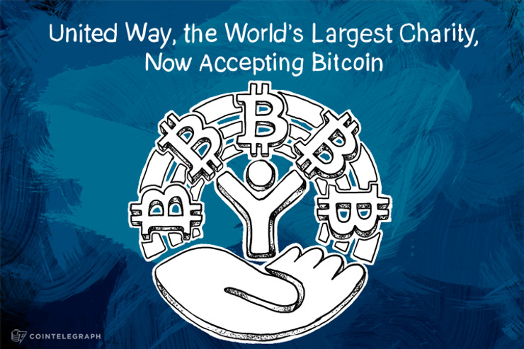 United Way, the World's Largest Charity, Now Accepting Bitcoin