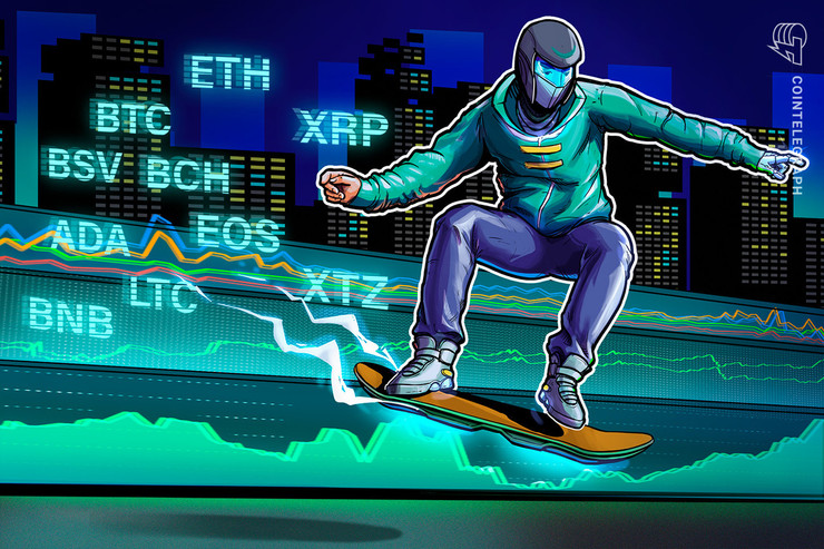 上昇トレンド再開で買いの機会到来か ビットコイン・イーサ・XRP(リップル)・ビットコインキャッシュ・ライトコインのテクニカル分析
