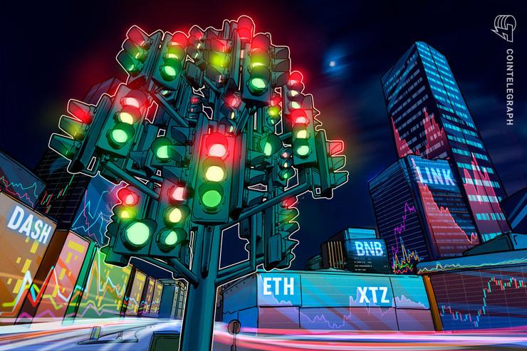 Las 5 criptomonedas con mejor desempeño de esta semana: ETH, XTZ, LINK, BNB, DASH