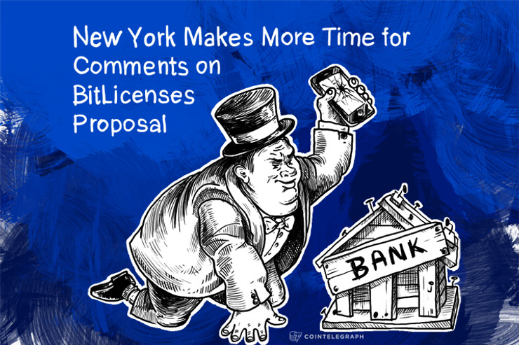 New York Makes More Time for Comments on BitLicenses Proposal