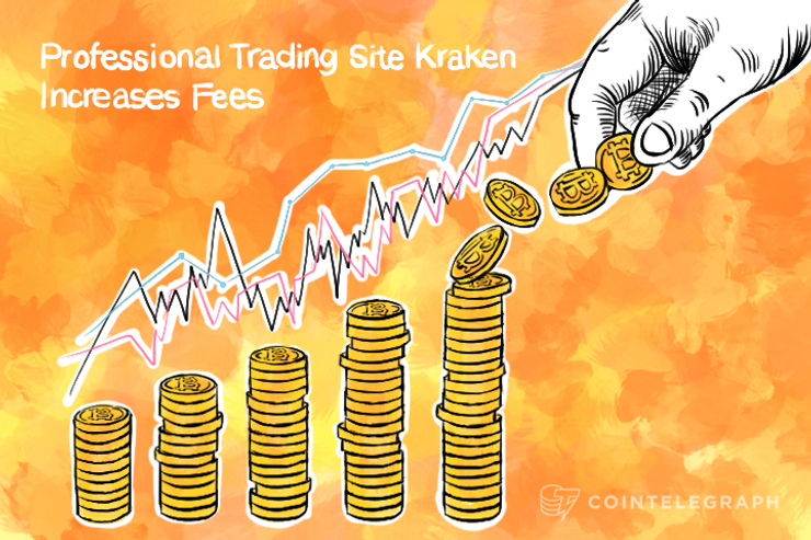 Professional Trading Site Kraken Increases Fees