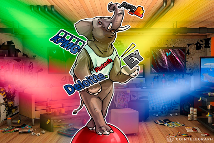 Elephant in Fintech Room: How 'Big Four' Crashed Bitcoin Blockchain Party