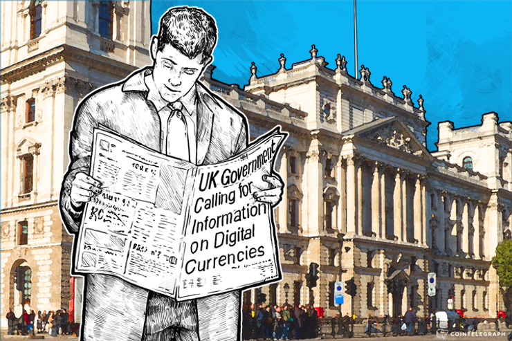 UK Government Calling for Information on Digital Currencies