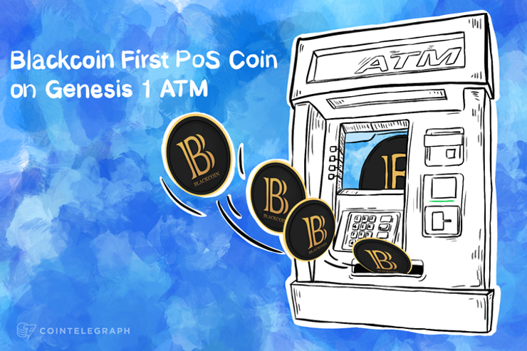 Blackcoin First PoS Coin on Genesis 1 ATM