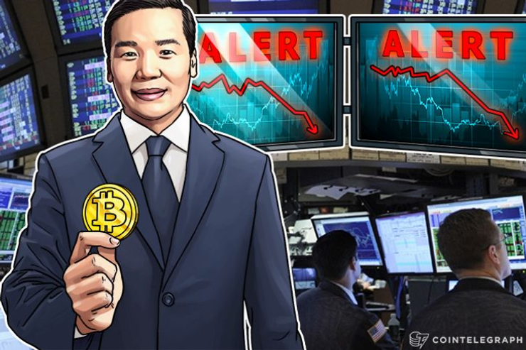 Bitcoin Share of Crypto Market At Record Low After 17% Dip In 2017