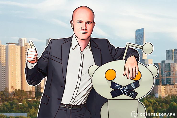 Coinbase CEO Objects Reddit Bitcoin Censorship, Decides to Censor Moderators