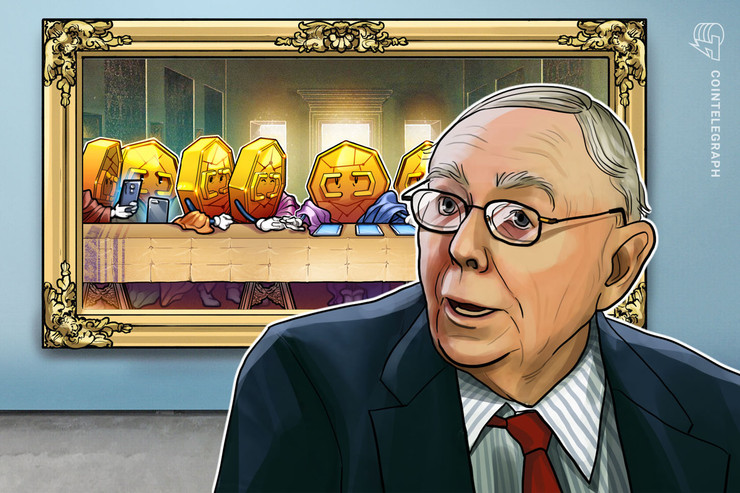 Charlie Munger: Bitcoin Investors 'Celebrate the Life and Work of Judas Iscariot'