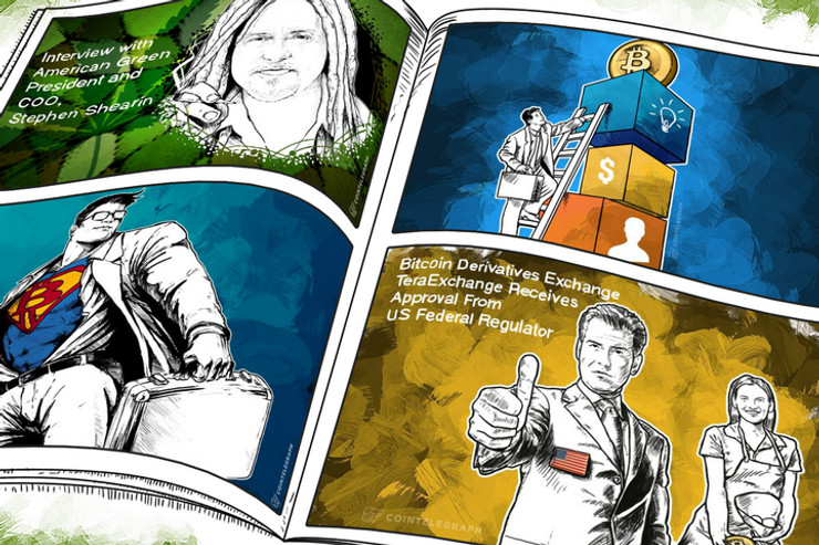 Weekend Roundup: First Publicly Traded US Bitcoin Derivatives Exchange Set to Launch, New BTMs in the US, UK