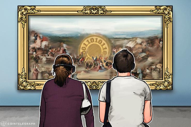 Artista plástico britânico vende 19 pinturas por $5 milhões e recebe pagamento em Bitcoin