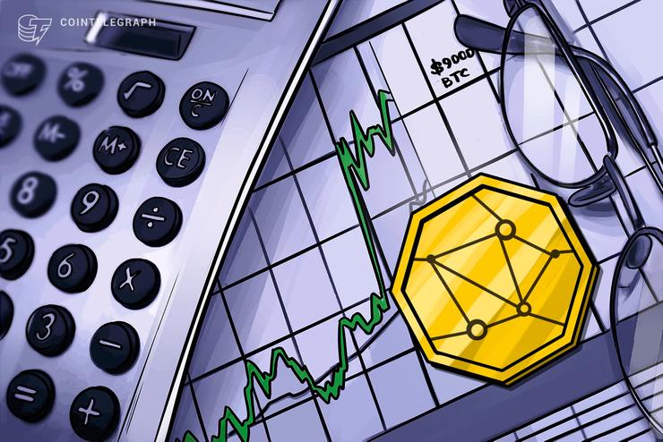 Mercati delle criptovalute di nuovo in crescita: Bitcoin sopra i 9.000$, EOS registra guadagni significativi