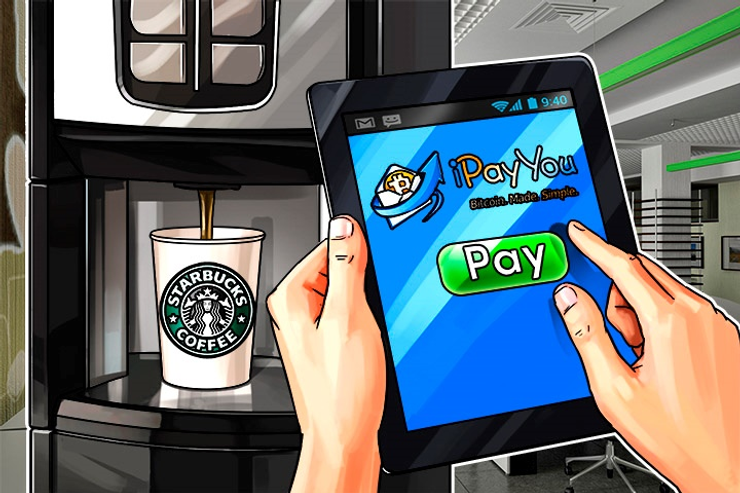 Starbucks App Goes Bitcoin With iPayYou Integration