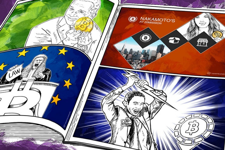Weekend Roundup: Glenn Beck Voices Support for Blockchains, EU Tax Issues Loom, and BTC Retail Store Opens in SF
