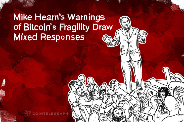 Mike Hearn's Warnings of Bitcoin's Fragility Draw Mixed Responses