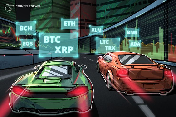 Bitcoin, Ethereum, Ripple, Litecoin, EOS, Bitcoin Cash, Binance Coin, Stellar, Cardano, TRON: Price Analysis April 3 thumbnail