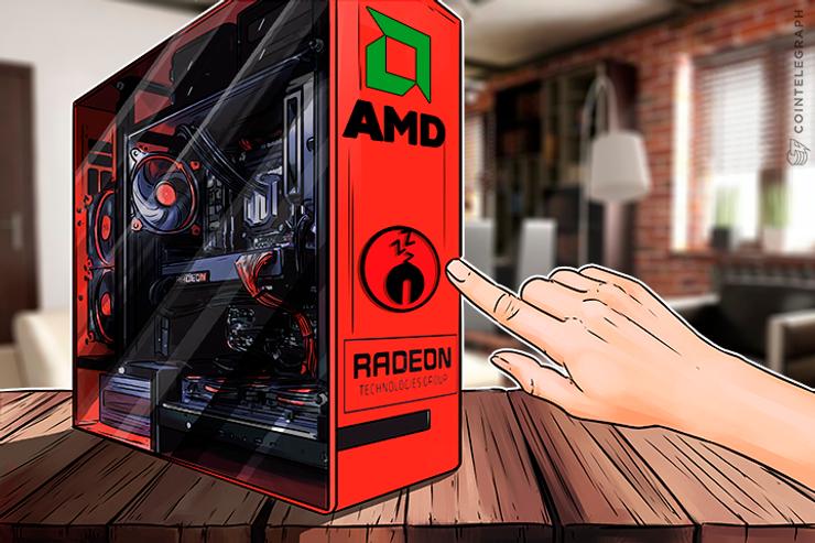 AMD rompe com as criptos apesar sua subida astronômica assegurada pelo boom do Bitcoin