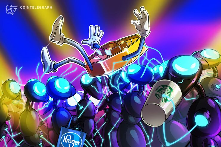 The Tipping Point: Kroger, Starbucks May Ignite Retail Crypto