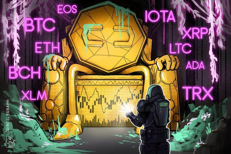 Bitcoin, Ethereum, Ripple, Bitcoin Cash, EOS, Litecoin, Cardano, Stellar, IOTA, TRON: Analisi dei prezzi, 8 agosto