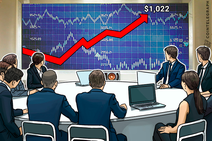 Bitcoin Price Stabilizes at $1,022, Scalability Debate Continues