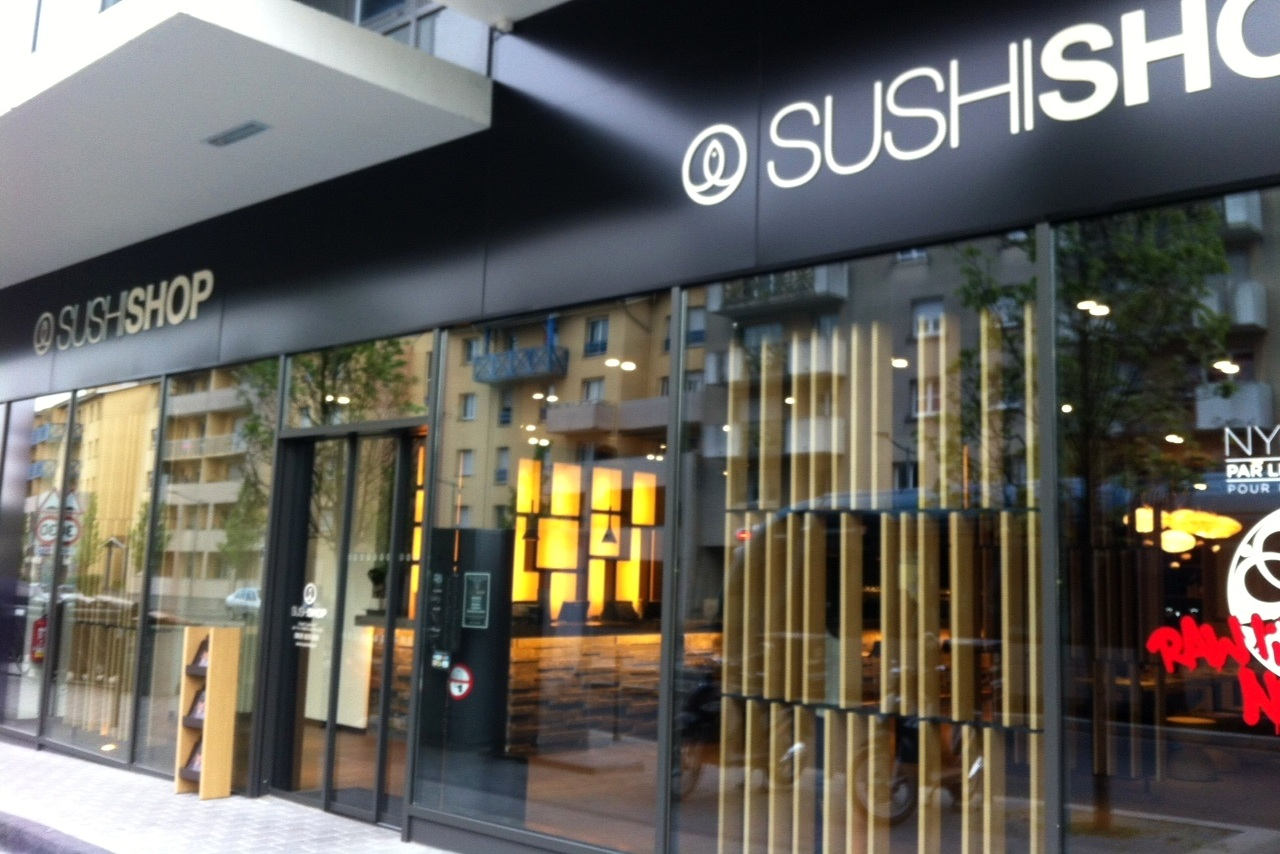 Buy sushi for bitcoin in Maki Wrap, Lyon, France