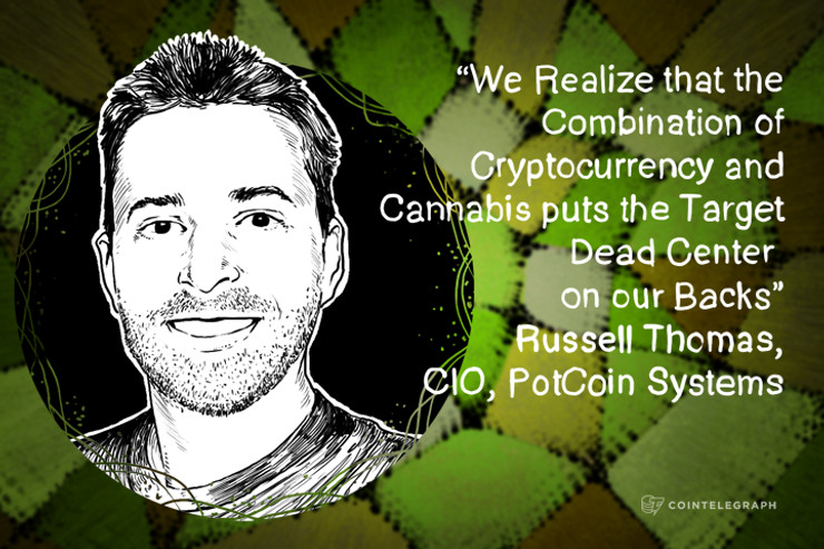 Interview with Russell Thomas, CIO, PotCoin Systems