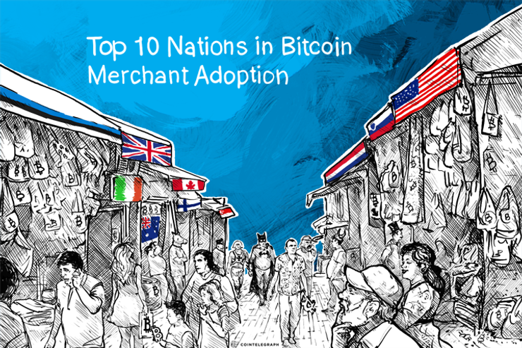 Top 10 Nations in Bitcoin Merchant Adoption