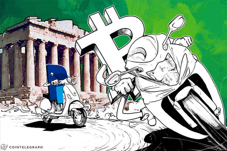 Bitcoin Transactions Surge to Record Highs amid Greece Crisis