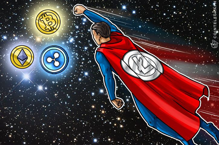 Litecoin Spikes, Highest Ever Trading Volume on GDAX