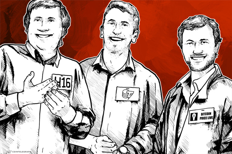 BitcoinPriceLive and H16 join the Cointelegraph Media Group