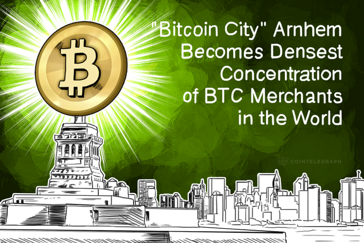 'Bitcoin City' Arnhem Becomes Densest Concentration of BTC Merchants in the World
