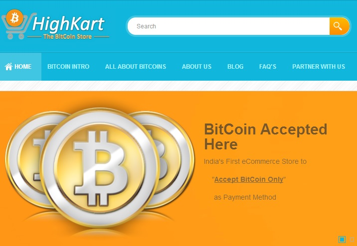 HighKart.com available only for BTC