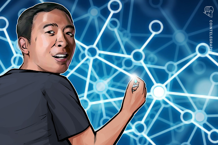 2020 Presidential Hopeful Yang Says Blockchain, Crypto Must Be Big