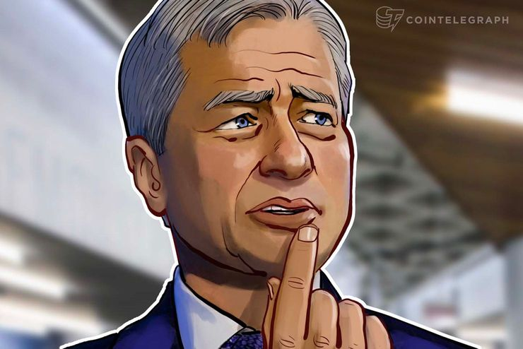 JPモルガンのダイモンCEO 「ビットコイン80%下落に満足できない」| 「ブロックチェーンは本物」と再評価