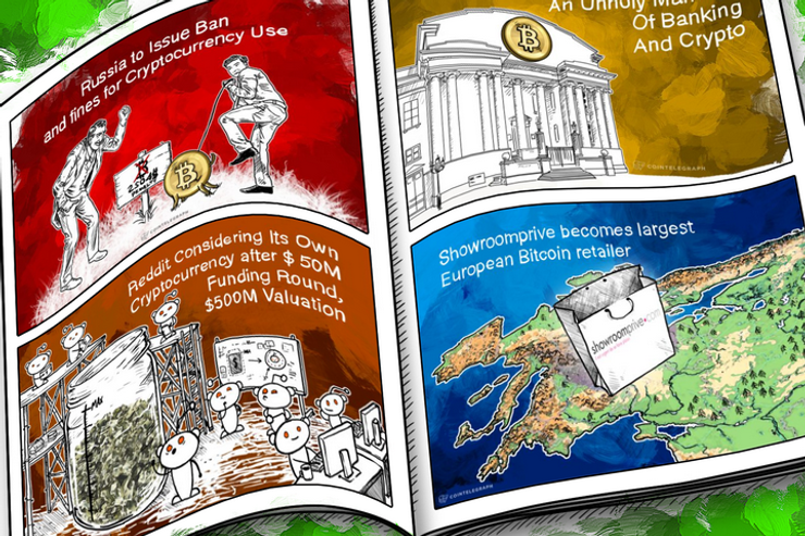 Weekend Roundup: Russia Fines BTC Users, Reddit Flirts With Its Own Coin, and Beta Circle Users Finally Stop Posting Their Screenshots