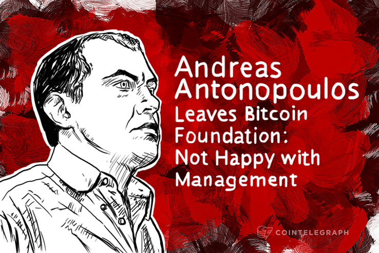 Andreas M. Antonopoulos Leaves Bitcoin Foundation: Not Happy with Management