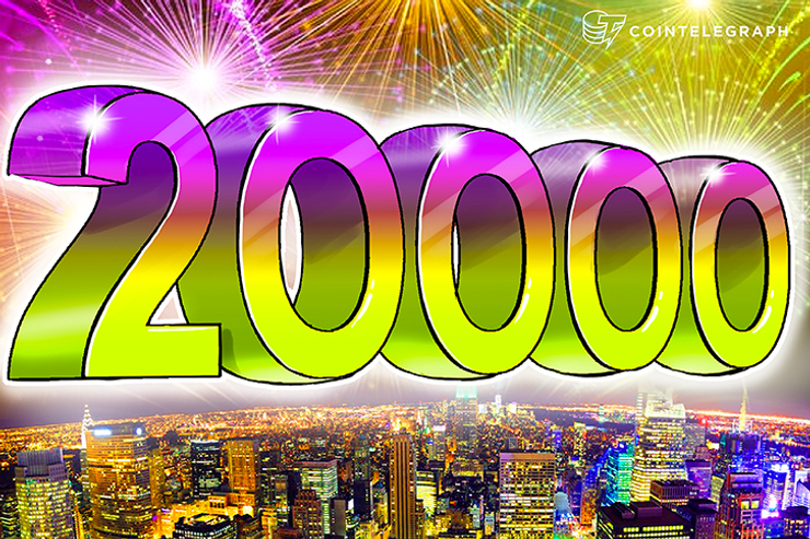 Bitcoin Hits $20,000 Per Coin, Capping Year of Enormous Growth