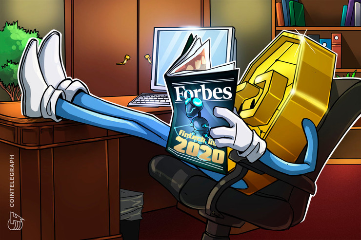 Six Out of Forbes Top 50 Fintech Companies for 2020 Are in Blockchain