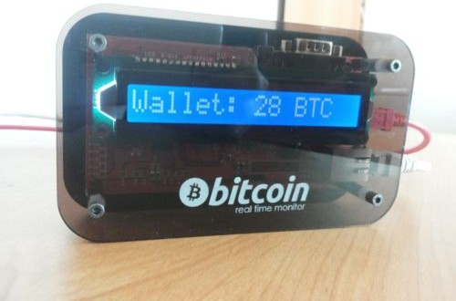 Real-time Bitcoin price monitor