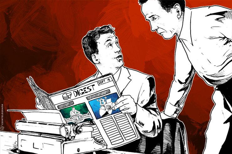 SEP 4 DIGEST: CoinWallet Conducts 'Stress Pre-test'; Hollywood Agency to Adapt MtGox Story