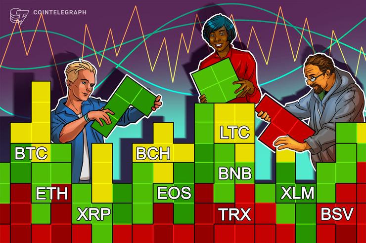 Analisi dei prezzi 15/07: BTC, ETH, XRP, LTC, BCH, EOS, BNB, BSV, TRX, XLM