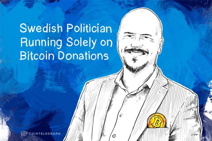 Swedish Politician Running Solely on Bitcoin Donations