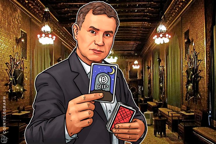 Dr. Doom ou Sr. Realista? Nouriel Roubini diz que regulação matará o Bitcoin