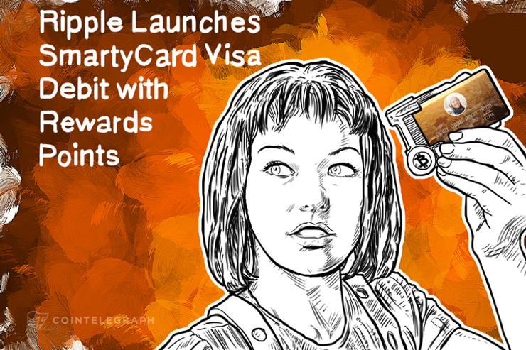 Ripple Launches SmartyCard Visa Debit with Rewards Points